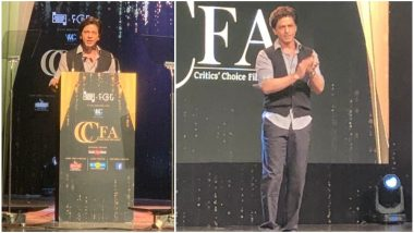 Critics' Film Choice Awards 2019: Shah Rukh Khan's Brutally Honest Speech Proves Why He's the Baadshah of Bollywood (Watch Video)