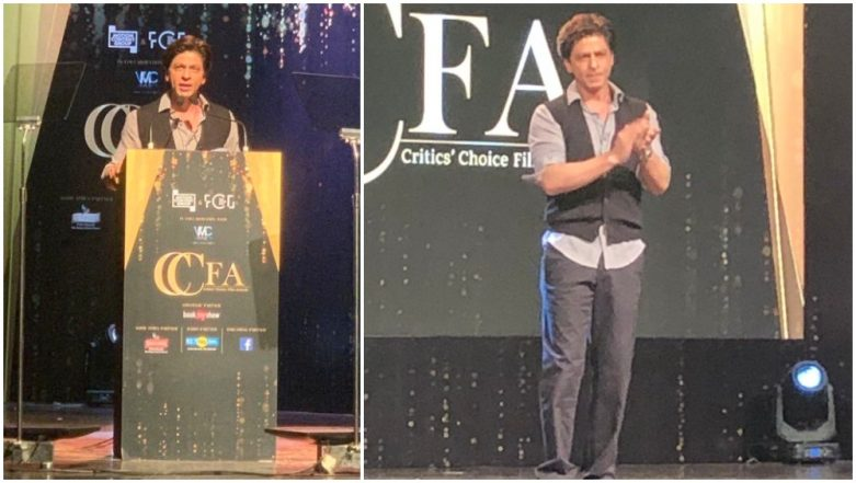 Critics' Choice Film Awards 2019: Shah Rukh Khan's Brutally Honest Speech Proves Why He's the Baadshah of Bollywood (Watch Video)