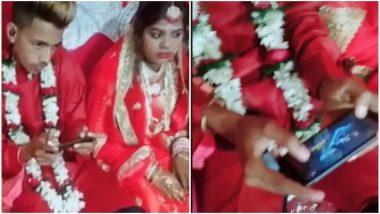 Groom Plays PUBG at His Wedding as Bride Looks On, Video Goes Viral