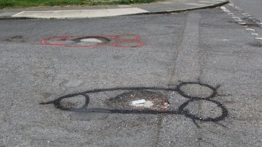 Artist Draws Penis Graffiti Over Potholes on UK's Middlesbrough Roads, Officials Swing Into Action to Repair Them