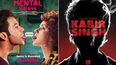 It's Kangana Ranaut v/s Shahid Kapoor as Mental Hai Kya Will Lock Horns with Kabir Singh on June 21, 2019