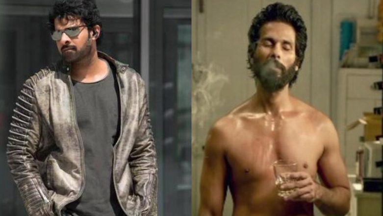 Prabhas and Shahid Kapoor Bond over Kabir Singh Teaser – Read Details