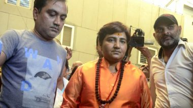 Sadhvi Pragya Thakur in Fresh Trouble As Madhya Pradesh Govt Decides to Reopen RSS Pracharak Sunil Joshi Murder Case