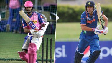 IPL 2019 Video Diaries: Rajasthan Royals Player Prashant Chopra Has a Message for Skipper Ajinkya Rahane Ahead of Their Clash With RCB in the Indian Premier League