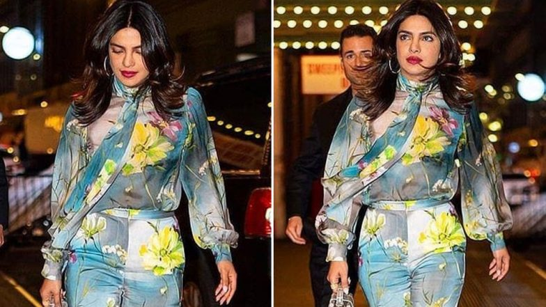Priyanka Chopra Looked Like a Spring Queen as She Stepped Out in this Floral Outfit in NYC - View Pics!