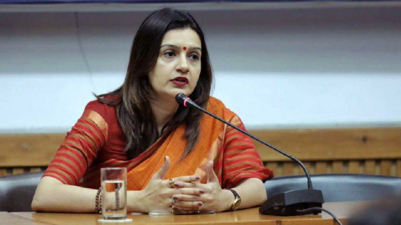 Priyanka Chaturvedi Resigns From Congress, Set to Join Shiv Sena Today; Massive Blow To INC Amid Lok Sabha Elections 2019