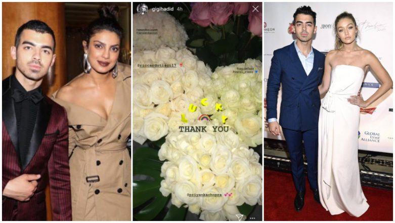 Priyanka Chopra Sends Joe Jonas' Ex-girlfriend Gigi Hadid Flowers on Her Birthday