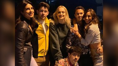 Priyanka Chopra's Fam Jam with the JSisters and Jonas Brothers Should End all the Rumours about Them Disliking Her - View Pic