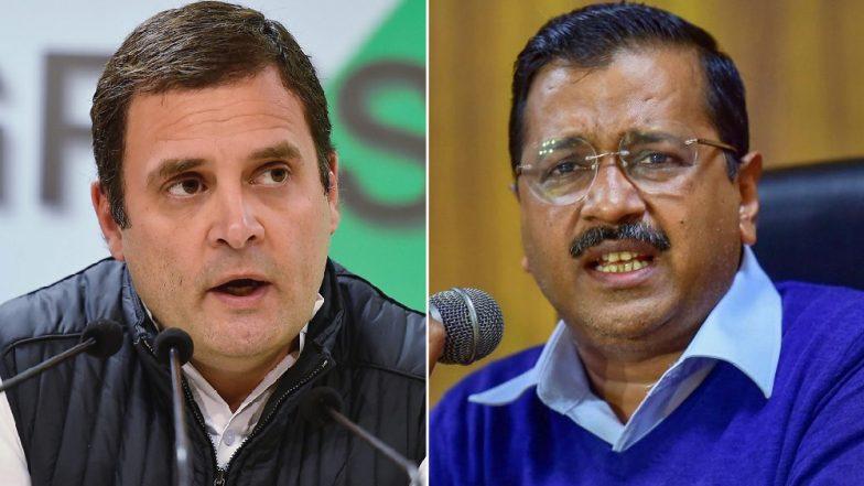 Arvind Kejriwal vs Rahul Gandhi Erupts on Twitter as AAP-Congress Alliance Bid HitsRoadblock
