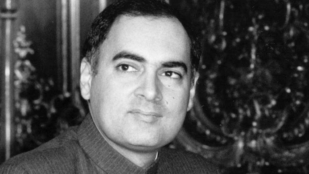 Former PM Rajiv Gandhi (Photo Credits: Getty Images)