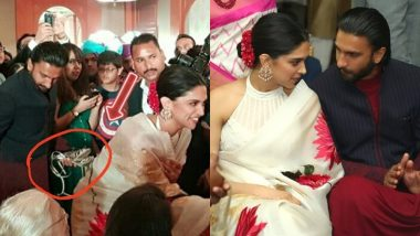 Ranveer Singh Holds Deepika Padukone's Heels at a Wedding and Internet Is Drooling over the Pictures