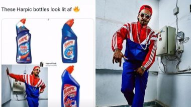 Ranveer Singh Shares a Meme Comparing Him to a Toilet Cleaner and We've Fallen More in Love with Him – See Pic