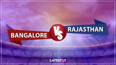 RCB vs RR, IPL 2019 Live Cricket Streaming: Watch Free Telecast of Royal Challengers Bangalore vs Rajasthan Royals on Star Sports and Hotstar Online