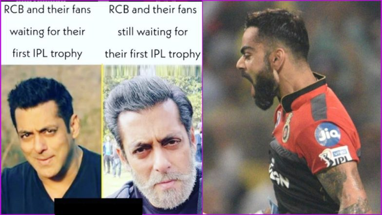 Funny RCB Memes Troll Virat Kohli and Co. Ahead of Match vs KXIP As Royal Challengers Bangalore Look to Stay in Contention for IPL 2019 Playoffs Spot