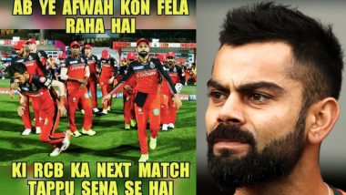 New Funny RCB Memes Hit Internet As KKR Hosts Royal Challengers Bangalore at Eden Gardens