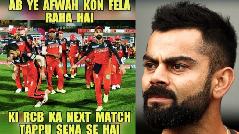 New Funny RCB Memes Hit Internet As KKR Hosts Royal Challengers Bangalore at Eden Gardens