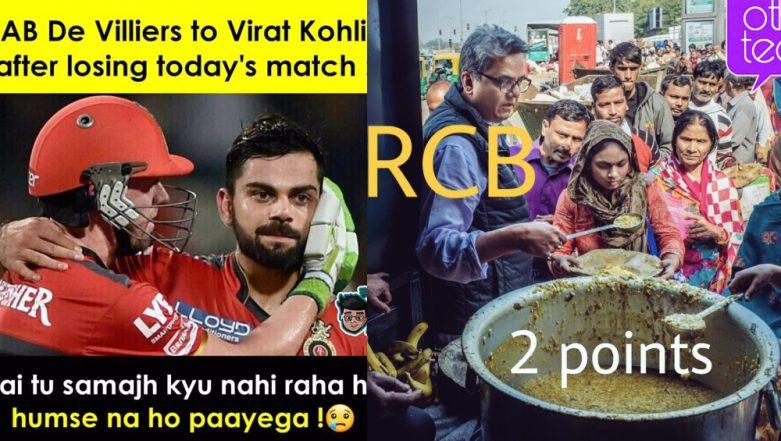 Funny RCB Memes Trolling Virat Kohli & Co. Don't Stop! Hilarious Tweets & Jokes Go Viral Following RCB's 6th Consecutive Defeat in IPL 2019