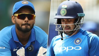 Rishabh Pant, Ambati Rayudu Not Part Of India Team For ICC Cricket World Cup 2019; Netizens Express Disappointment