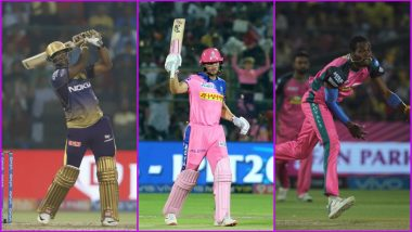 RR vs KKR, IPL 2019 Match 21, Key Players: Andre Russell to Jos Buttler to Jofra Archer, These Cricketers Are to Watch Out for at Sawai Mansingh Stadium