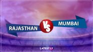 RR 44/2 in 4.4 Overs | RR vs MI Live Score Updates Dream11 IPL 2020: James Pattinston Strikes Again, Steve Smith Dismissed