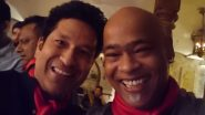 Sachin Tendulkar Gives One Week's Time to Vinod Kambli to Do Rap Of His Song 'Cricket Wali Beat'!