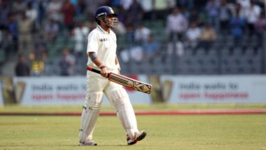 This Day That Year: When Sachin Tendulkar Went Past Brian Lara to Become Leading Run-Scorer in Test Cricket
