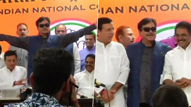 Shatrughan Sinha, Veteran Actor and Former BJP MP, Joins Congress Ahead of 2019 Lok Sabha Elections