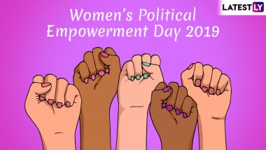 Women's Political Empowerment Day 2019: History and Significance of the Day