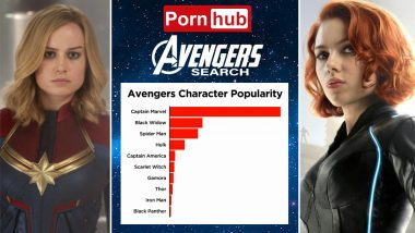 Avengers: Endgame Movie Spikes Porn Searches for 'XXX' Sex Videos of Captain Marvel and Black Widow