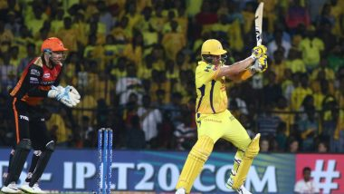CSK vs SRH, Stat Highlights: Shane Watson's 96 Deny Sunrisers Hyderabad With A Win; MS Dhoni & Men Virtually Qualify for Playoffs
