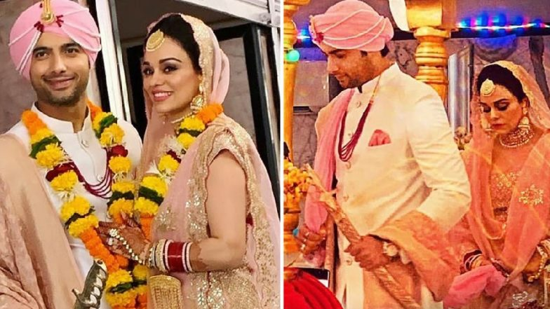 Ssharad Malhotra Ties the Knot with Ripci Bhatia; Check out First Pictures from Their Wedding Ceremony