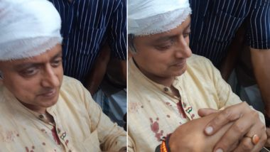 Shashi Tharoor Falls While Offering Prayers at Temple, Sustains Head Injuries