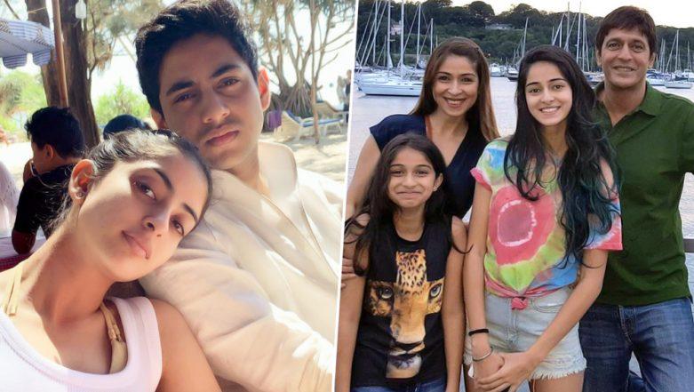 Siblings Day 2019: From Ananya Panday - Rysa Panday to Navya Naveli Nanda - Agastya Nanda, Here are Some Lesser Know Brother-Sister Jodis of Bollywood