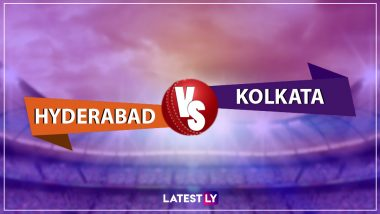 SRH vs KKR, IPL 2019 Live Cricket Streaming: Watch Free Telecast of Sunrisers Hyderabad vs Kolkata Knight Riders on Star Sports and Hotstar Online