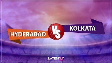 SRH vs KKR, IPL 2019 Live Cricket Streaming: Watch Free Telecast of Sunrisers Hyderabad vs Kolkata Knight Riders on Star Sports and Hotstar Online