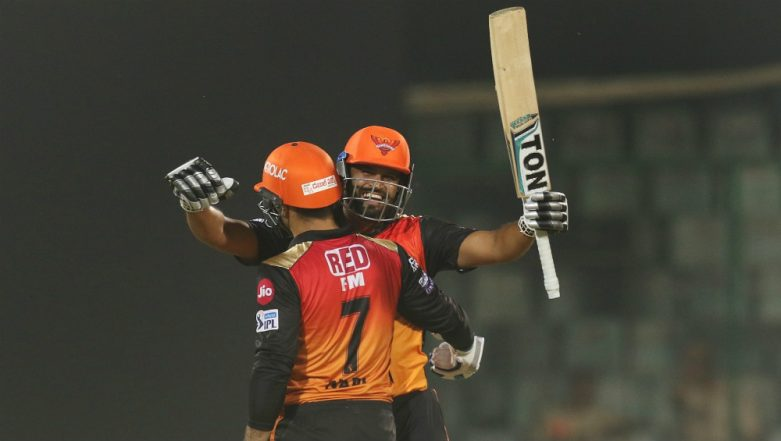 DC vs SRH, IPL 2019: In-Form Sunrisers Hyderabad Beat Lacklustre Delhi Capitals by 5 Wickets