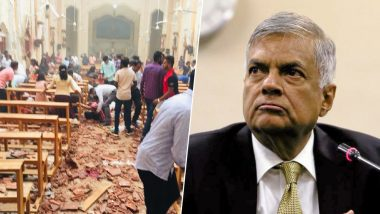 Sri Lankan PM Ranil Wickremesinghe Condemns Easter Sunday Serial Blasts, Appeals To People To 'Remain United And Strong'