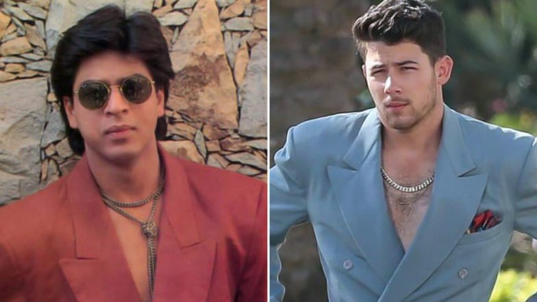 Nick Jonas' Look From 'Cool' Music Video Was Donned By Shah Rukh Khan 24 Years Ago - See Pic!