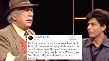 Shah Rukh Khan Gets Nostalgic as Fauji Director Colonel Raj Kapoor Passed Away (View Posts)