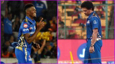 Sachin Tendulkar 'Regrets' Missing Alzarri Joseph's Record-Breaking Bowling Spell During SRH vs MI IPL 2019 Match
