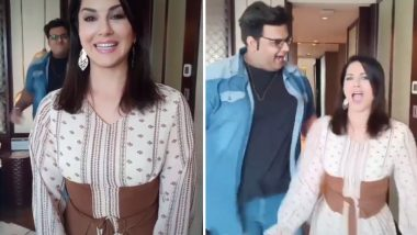 Sunny Leone's Latest TikTok Video on 'Laila' is Goofy and Cute! (Watch Video)