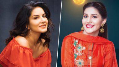 Sunny Leone Dances Hilariously on Sapna Chaudhary's Song 'Teri Aakhya Ka Yo Kajal' in This Viral Video!