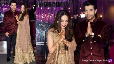 Ssharad Malhotra and Ripci Bhatia Sangeet: The Lovely Romantic Pictures Are All Hearts!
