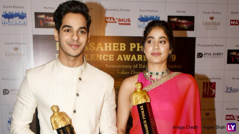 Dadasaheb Phalke Excellence Awards 2019 Winners' List: Janhvi Kapoor and Ishaan Khatter Bag Best Debut Honours