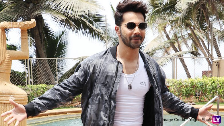 This Is How Varun Dhawan Poses When He's Not Busy Promoting Kalank, View Pics