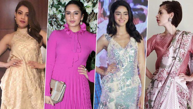 Ananya Panday, Huma Qureshi and Kajal Aggarwal Sadden us With Their Fashion Choices This Week - View Pics