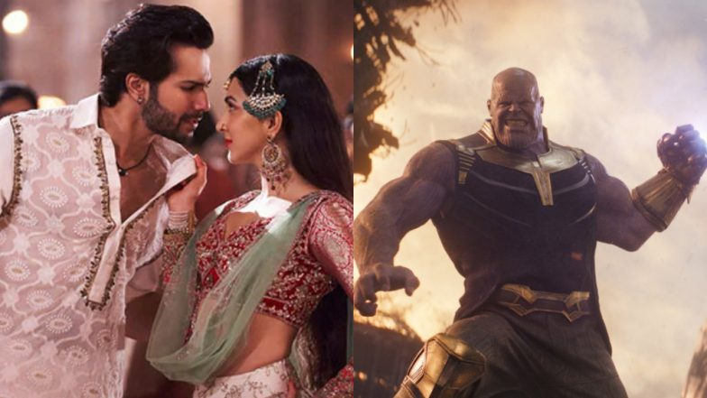 Thanos' First Class Thumke: Varun Dhawan Loves the Video of Avengers: Endgame Villain Dancing to the Kalank Song
