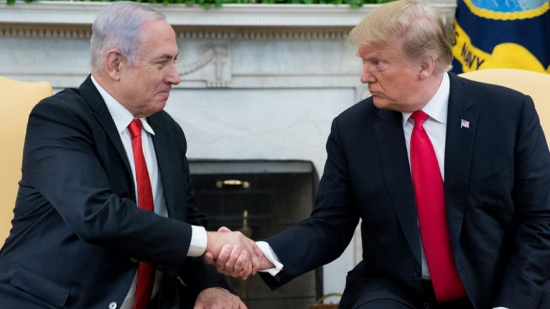 New Town in Golan Heights to be Named After Donald Trump, Says Israel PM Benjamin Netanyahu