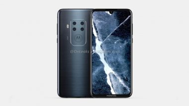 Mysterious Motorola Smartphone With Quad Rear Cameras Spotted Online; To Feature In-display Fingerprint Sensor & Waterdrop Notch