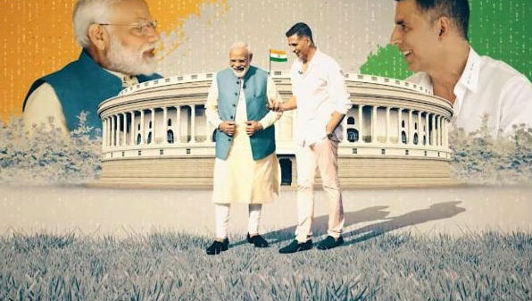 Akshay Kumar's Video Interaction With PM Narendra Modi to be Aired Tomorrow at 9 AM on ANI